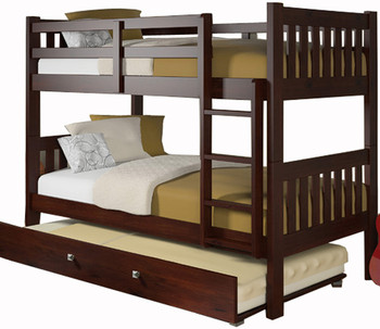 Filmor Twin Bunkbed with Trundle