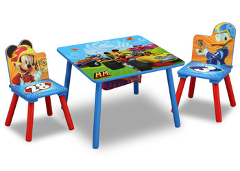 Mickey Mouse Table & Chair Set with Storage