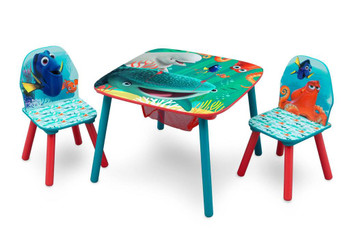 Finding Dory Table & Chair Set with Storage