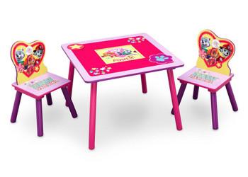 PAW Patrol, Skye & Everest Table & Chair Set with Storage