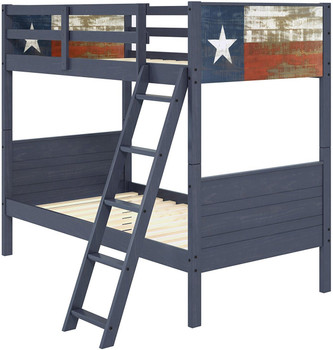 Lone Star Twin Bunk Bed