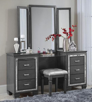 Annie Gray Vanity With Mirror