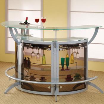 Rohe Glass Top Bar Set