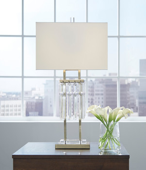 "Helmz 30""H Table Lamp"