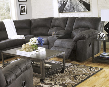 Peterson Gray 2-PC Reclining Sectional