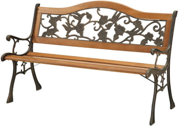 "Brennia 49"" Outdoor Bench"