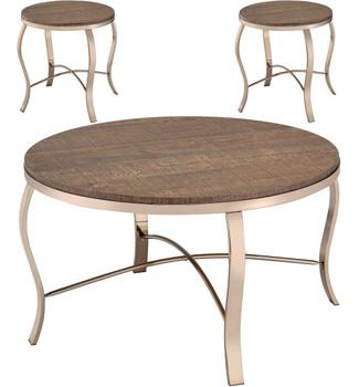 Moritza 3 Piece Table Set