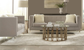 Cydney Light Grey Sofa & Loveseat