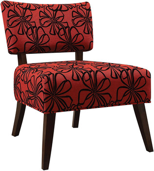 Tupelo Red Accent Chair