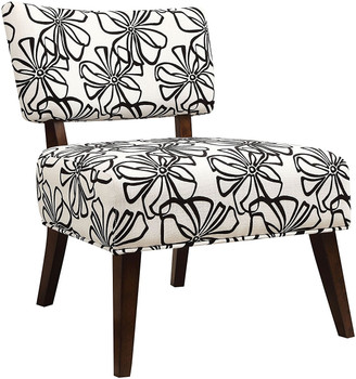 Tupelo White Accent Chair