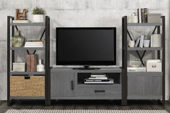 """Rordan 3Pc Storage Wall Unit with 51"""" TV Stand"""
