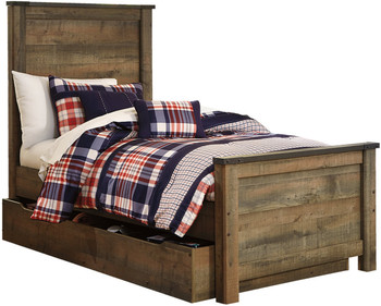 Benni Trundle/Storage Bed