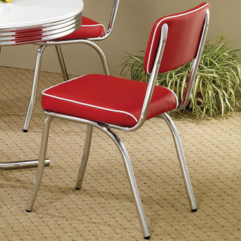 Bel Air Red Dining Chair