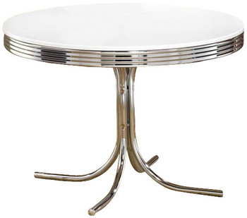 "Bel Air 42"" Wide Round Dining Table"