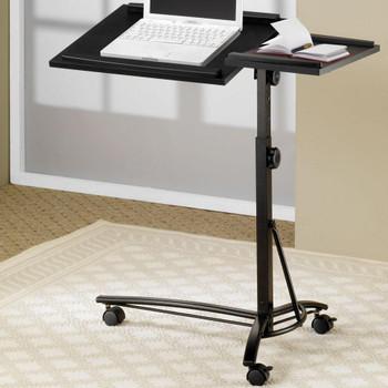Bryan Black Adjustable Laptop Stand