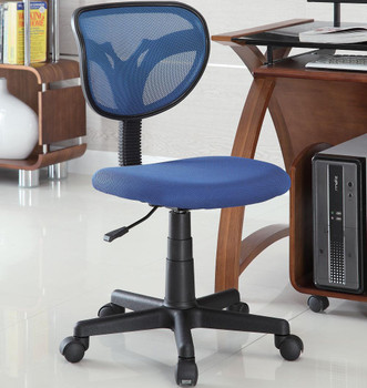 Sentials Blue Mesh Office Chair