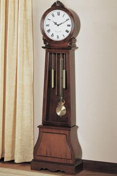 Temoc Brown Grandfather Clock
