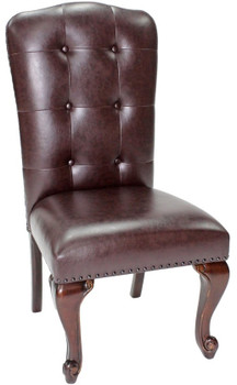 Bradford Dark Brown Side Chair
