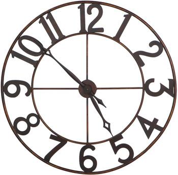 """Torres Antique Gold 30"""" Wall Clock"""
