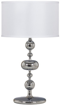 "Leonel Chrome 27""H Table Lamp"