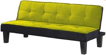 Sentials Green Adjustable Sofa Bed