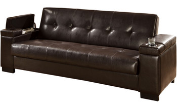 Philip Sofa Bed with Storage and Cup Holders