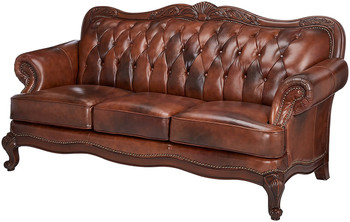 Gordon Top Grain Leather Sofa And Loveseat