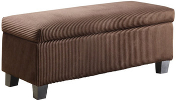 Bailey Brown Storage Bench