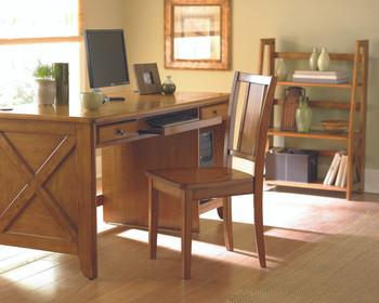 Trinity Oak Solid Wood Writing Desk