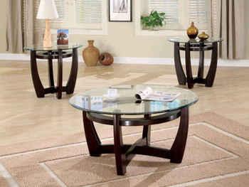 Ross Cappuccino 3-PC Occasional Set