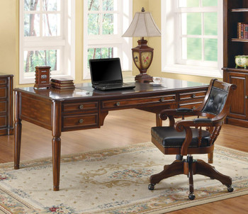 Kaeden Rich Walnut Desk