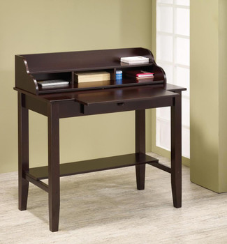 Evan Cappuccino Writing Desk