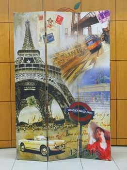 Jacie Paris Three-Panel Divider