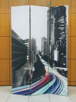 Jacie Traffic Three-Panel Divider