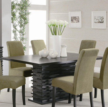 Darnell Black Dining Table