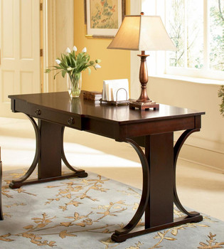 Gisselle Rich Dark Cherry Writing Desk