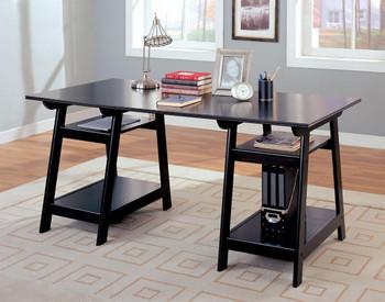 Devan Black Desk