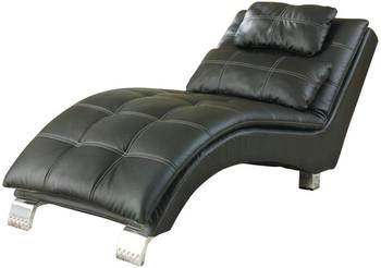 Brady Black Chaise