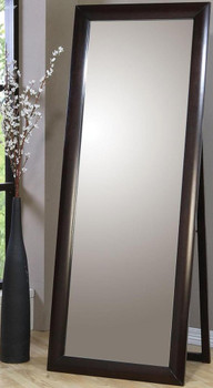 Morley Cappuccino Floor Mirror