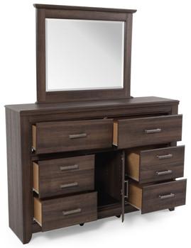 Hacienda Aged Dresser & Mirror
