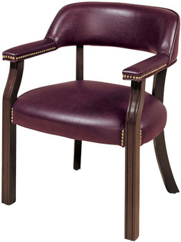 Memphis Burgundy Chair