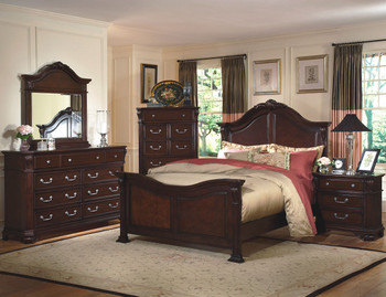Hampton Brown Bedroom Set