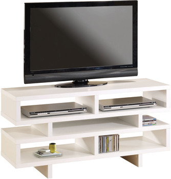 Moral White TV Stand