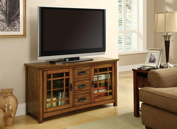 Fabrizio Brown Oak Tv Console