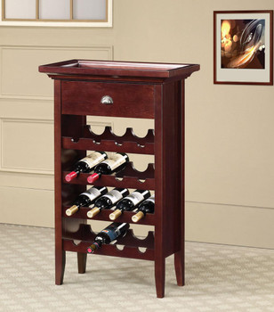 Glenward Cherry Wine Rack