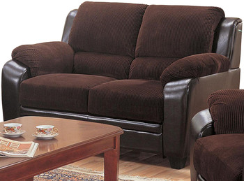 Thomas Chocolate Loveseat