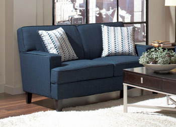 Alexus Blue Loveseat