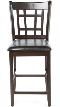 Kileen Dark Brown Counter Chair