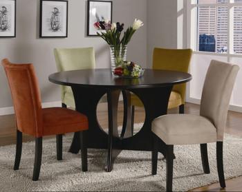 Continental Terracotta Parsons Chair
