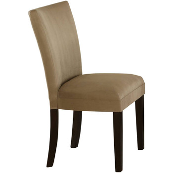 Continental Taupe Parsons Chair